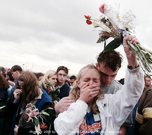 Two Victims Of The Illinois Shooting Attended A School: Columbine: Three Views On The Images